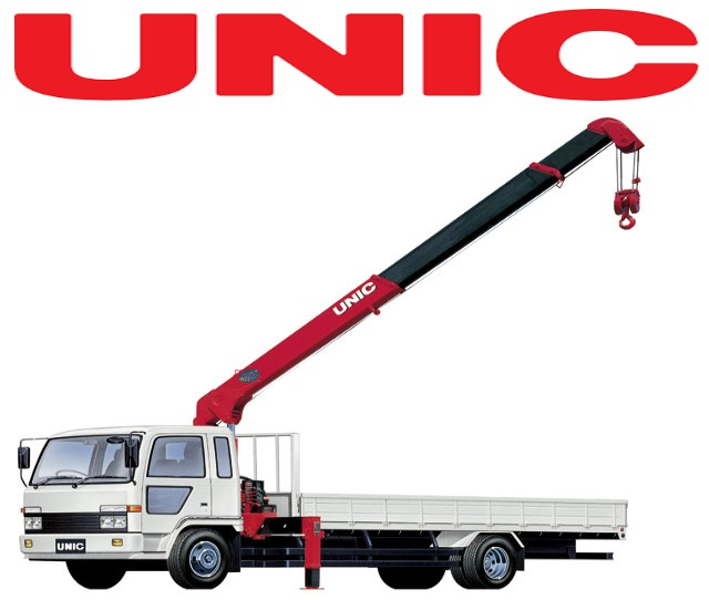 Unic Telescopic Truck mounted Crane