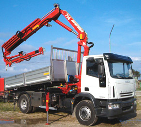 Ferrari Articulated Truck Mounted Crane